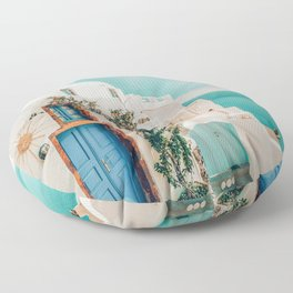 Holiday Home #travel #photography Floor Pillow