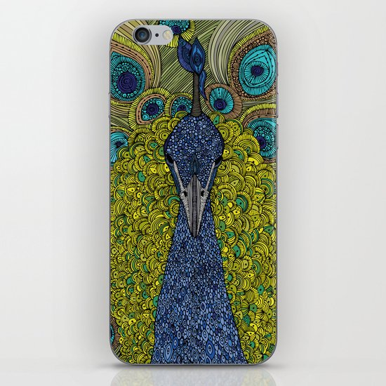 Mr. Pavo Real iPhone & iPod Skin