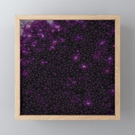 Stardust Galaxy Framed Mini Art Print