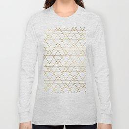 Modern Gold Long Sleeve T-shirt