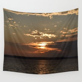 Ocean City, Maryland Series - Sunset Wall Tapestry