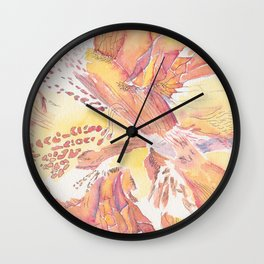 Flower Detail Series Wall Clock