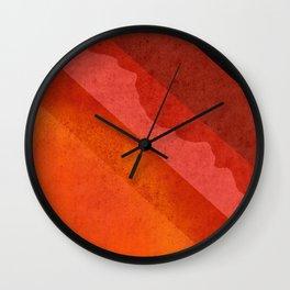 Volcanic Rock Wall Clock