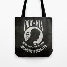 POW MIA Flag - Prisoner of War - Missing in Action Tote Bag