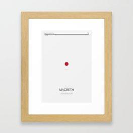Macbeth Framed Art Print