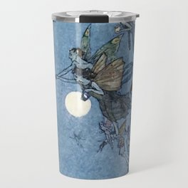 """Elves"" Fairy Tale Art by Edmund Dulac Travel Mug"