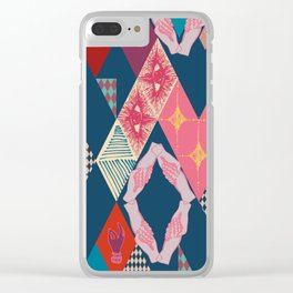 Circus_vintage Clear iPhone Case