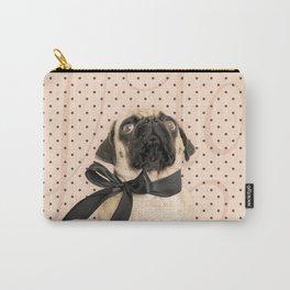 Trés Chic Pug Carry-All Pouch