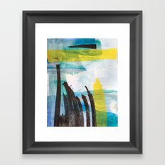 Little Reeds Framed Art Print