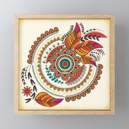 Mandala Framed Mini Art Print