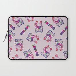 Maneki Neko Cotton (Bare Version) Laptop Sleeve