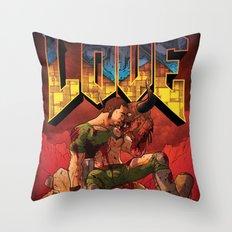 Doom Generation Throw Pillow