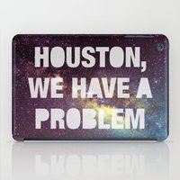 houston iPad Cases featuring Houston by Text Guy