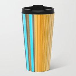 Sablo Lio Blue Yellow Travel Mug