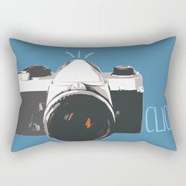 Click! - camera Rectangular Pillow