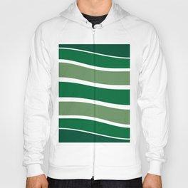 Green Striations  Hoody