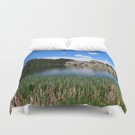 Sylvan Lake In The Black Hills Duvet Cover