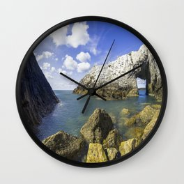 The White Arch  Wall Clock