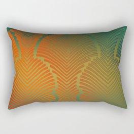 """Paradise Zebras Spines"" Rectangular Pillow"