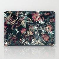 garden iPad Cases featuring Space Garden by RIZA PEKER