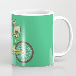 Frenchie on a Fixie Coffee Mug