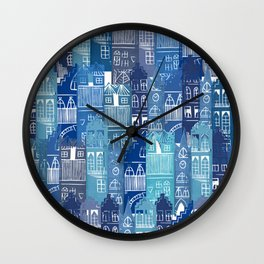 Edinburgh Cityscape Wall Clock