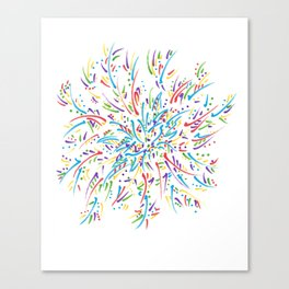 Azalea Blooming Canvas Print