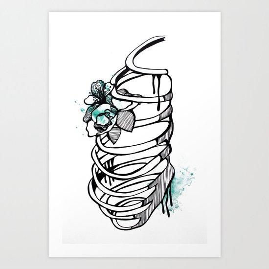 Cage Art Print