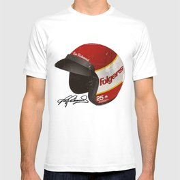 Tim Richmond Vintage Helmet T-shirt