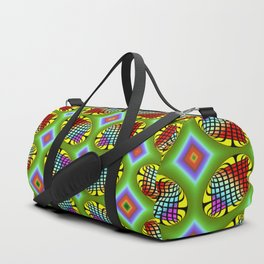 Patterned-beans-pattern 1 Duffle Bag