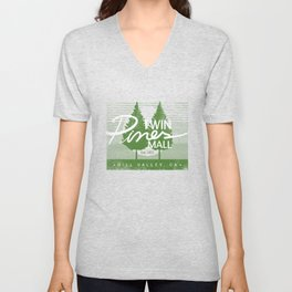 Twin Pines Mall Unisex V-Neck