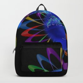 Abstract in Perfection - Rose 3 Backpack