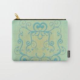 Mint tendrils emblem Carry-All Pouch