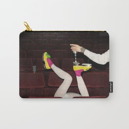 I enjoy going to the cinema. Taking a dress off. Closing my eyes. Watching the Dreamers. Carry-All Pouch