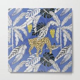 jungle marker pattern Metal Print