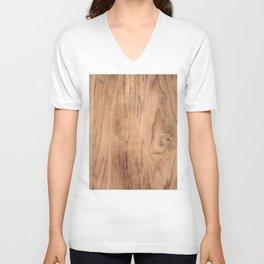 Wood Grain #575 Unisex V-Neck