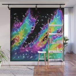 Rainbow Glass Wall Mural