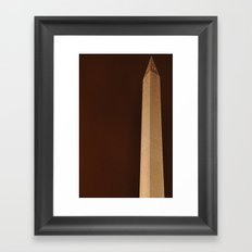 Washington Monument (for devices) Framed Art Print