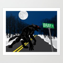 The Beast of Bray Road Art Print