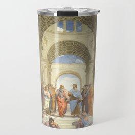 Raffaello Sanzio : The school of Athens Travel Mug