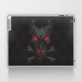 All the powers of Hell GREY RED Laptop & iPad Skin