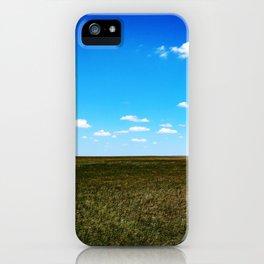 Grassy Horizons iPhone Case