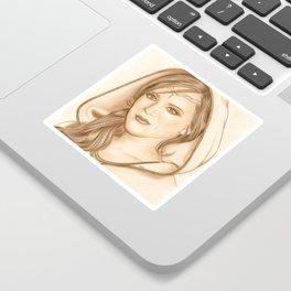 Elf Lady Sticker