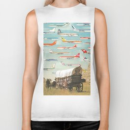 Over There Yonder Biker Tank