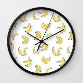 Going Bananas Wall Clock