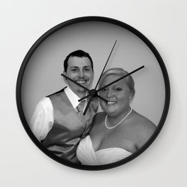 Just Married Special Order Wall Clock