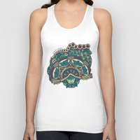 glass Tank Tops featuring Glass by J. Fuller