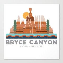 Bryce Canyon National Park Utah Graphic Canvas Print