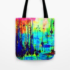 Waterlily Cat tails Tote Bag