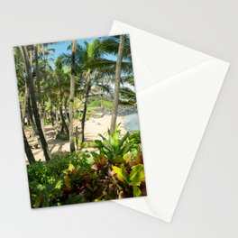 Kuau Beach Cove Paia Maui Hawaii Stationery Cards